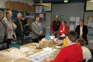 Verpackungsarbeiten sind nur ein Teil des breiten Beschäftigungsspektrums der Osnabrücker Werkstätten